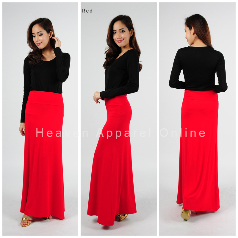 maxi skirt skirt flare chiffon maxi jubah skirt