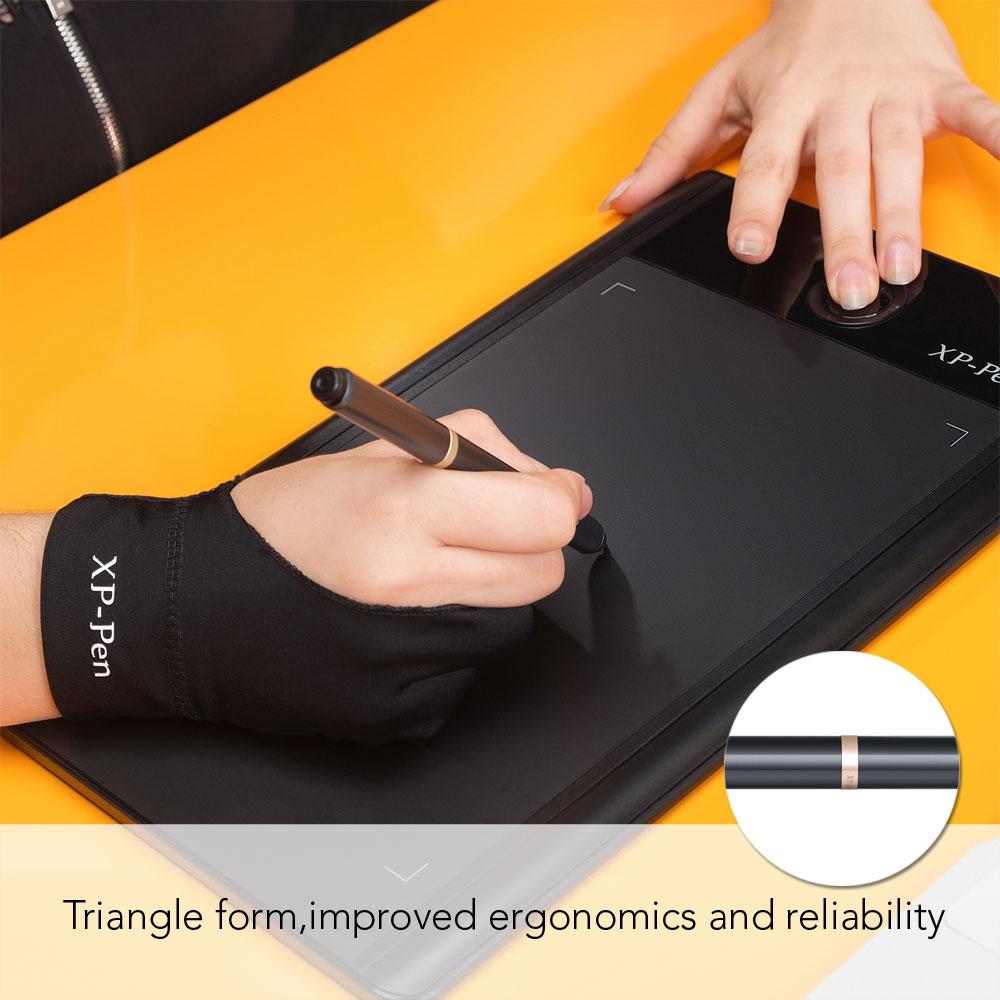XP-Pen PN03 Triangle Battery-free Passive Stylus 2048level Pen for XP-Pen Tablet