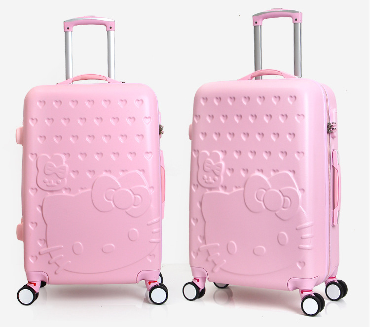 Buy Lovely Hello Kitty Luggage Cover Luggage Bag With