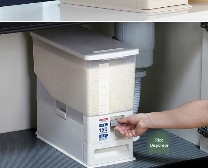 Buy Japanese Automatic Rice Dispenser Storage Deals For