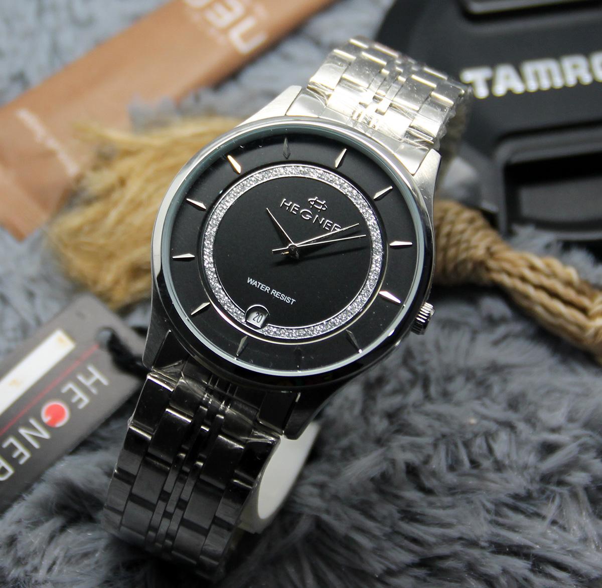 Buy Original 100hegner Watch Jam Tangan Hegnerwanita Pria Qq Vq94 Analog Elevenia Priagaransi Showroom Resmi Deals