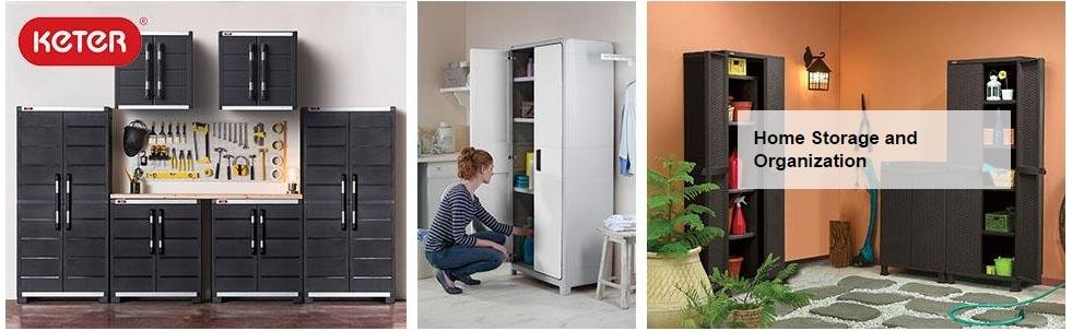 Buy [KETER] Space Winner Base Indoor Storage Plastic Cabinet | 2 ...