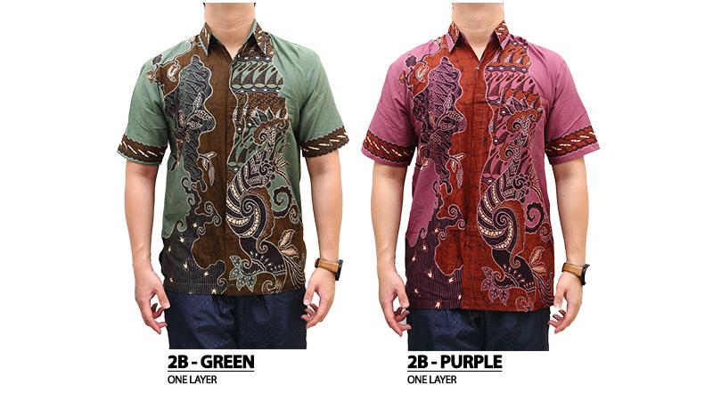 termurah premium high quality kemeja batik modern tas