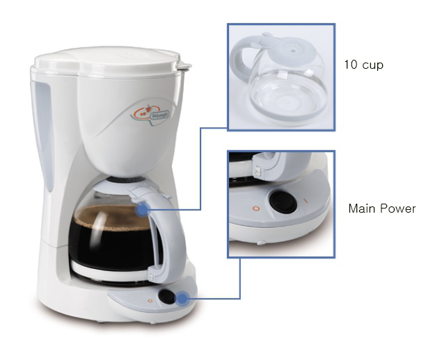 K Cup Coffee Maker Deals : Buy DeLonghi coffee maker / ICM2 / 10 cup / Free Shipping Deals for only SUSD 89.9 instead of SUSD 120.5