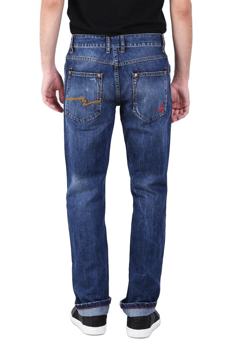 Buy Okayama Jeans Deals For Only Rp129000 Instead Of Bushido Bd17pa007pd Straight Cut Dark Blue Biru 32 Ukuran Lingkar Pinggang 84 Cm Panjang 108 34 88 110 36 92 112