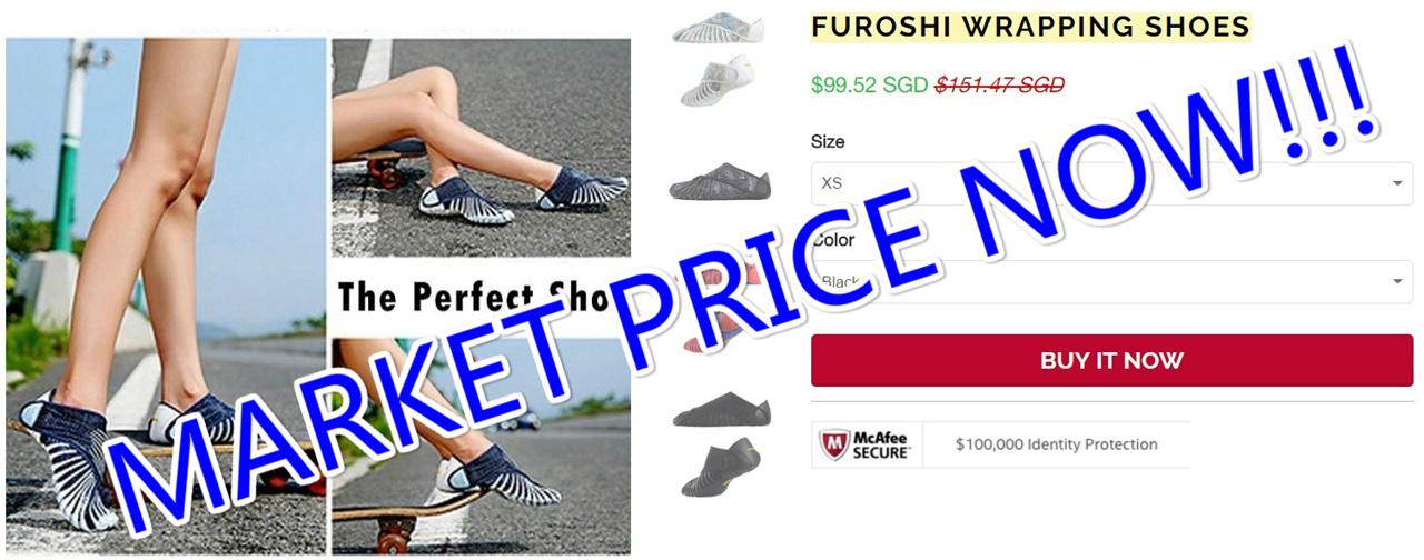 Buy Furoshiki Shoes Australia