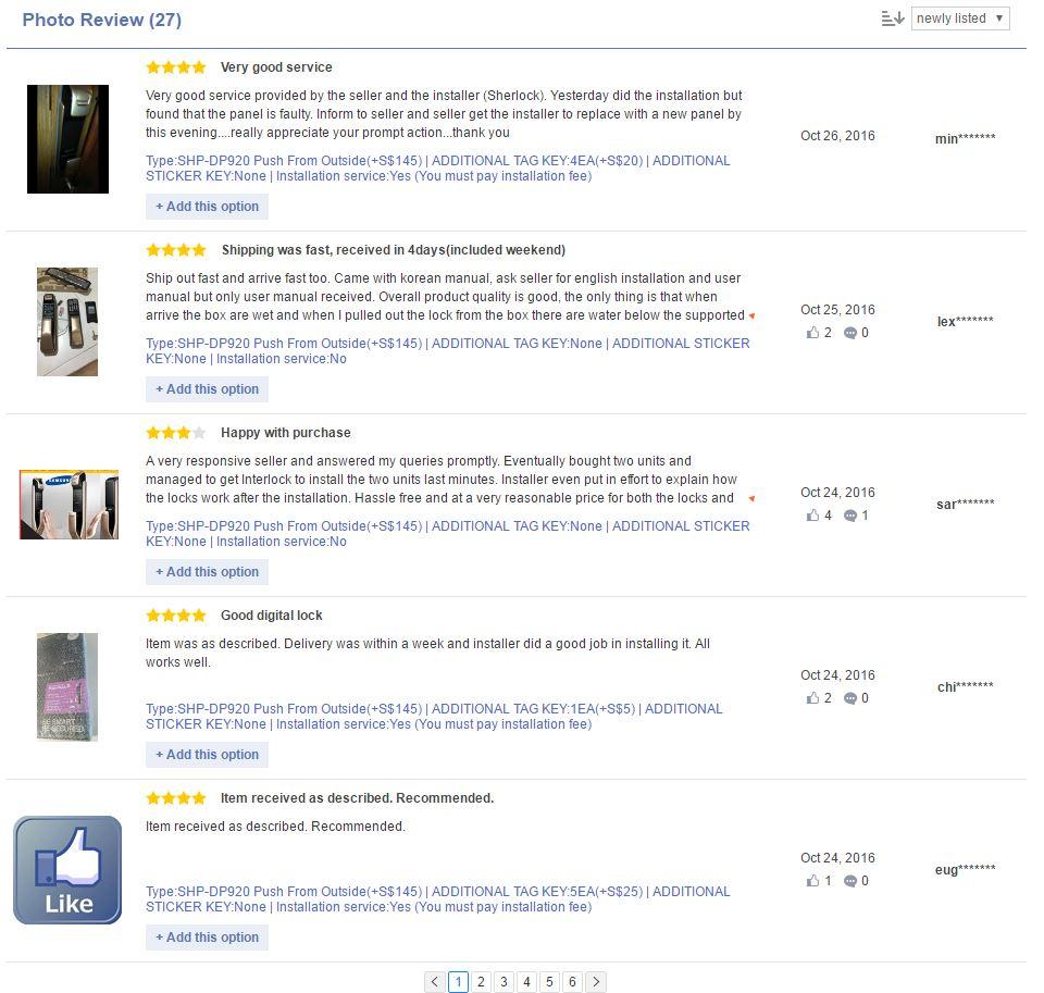 Buy [Crazy Sale]SAMSUNG DIGITAL DOORLOCK EZON Fingerprint PUSH PULL GOLD  Door Lock / SHP-DP920 / SHP-DP820 / SHP-DP720 / SHS-DP710 / Installation