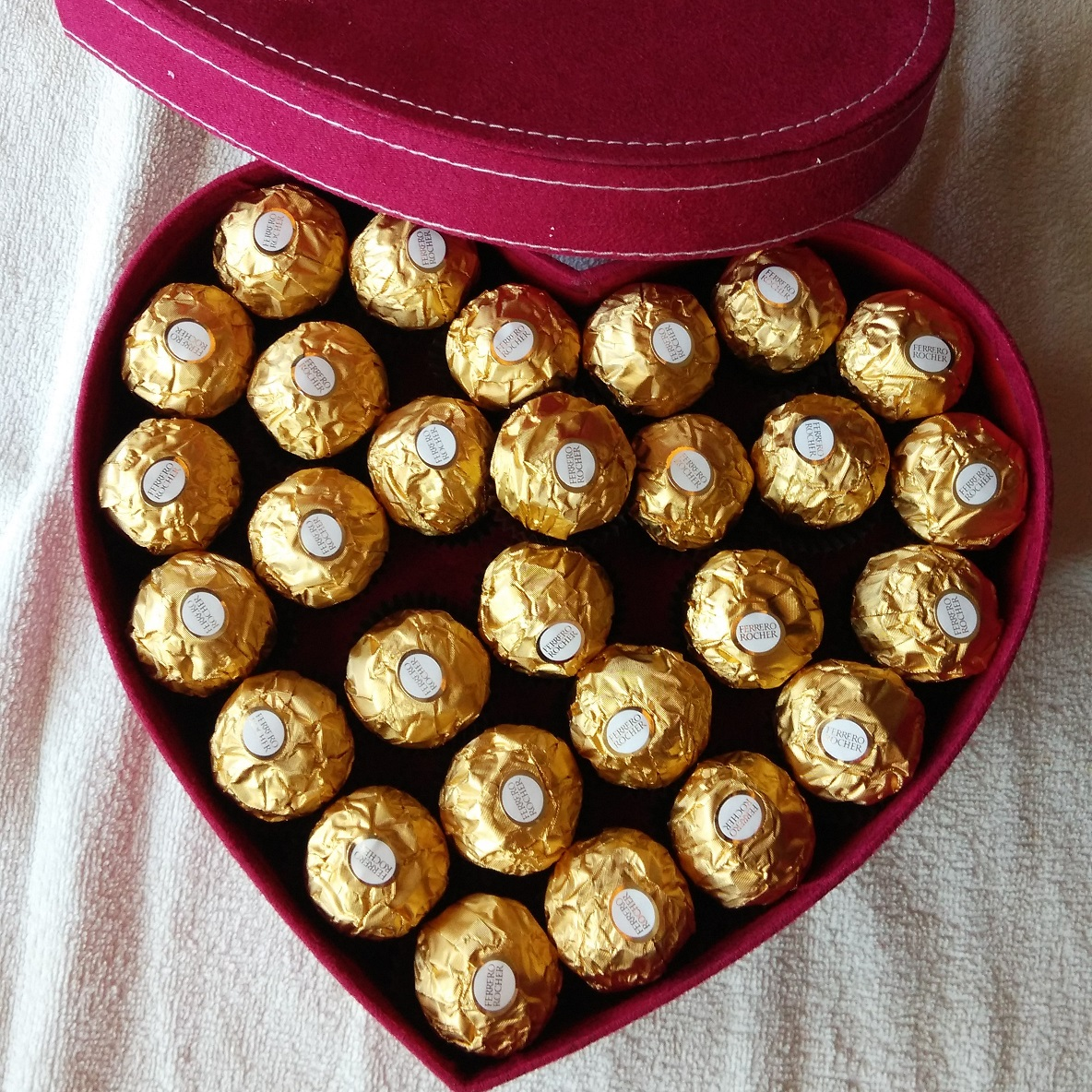 Image result for ferrero heart shaped chocolate