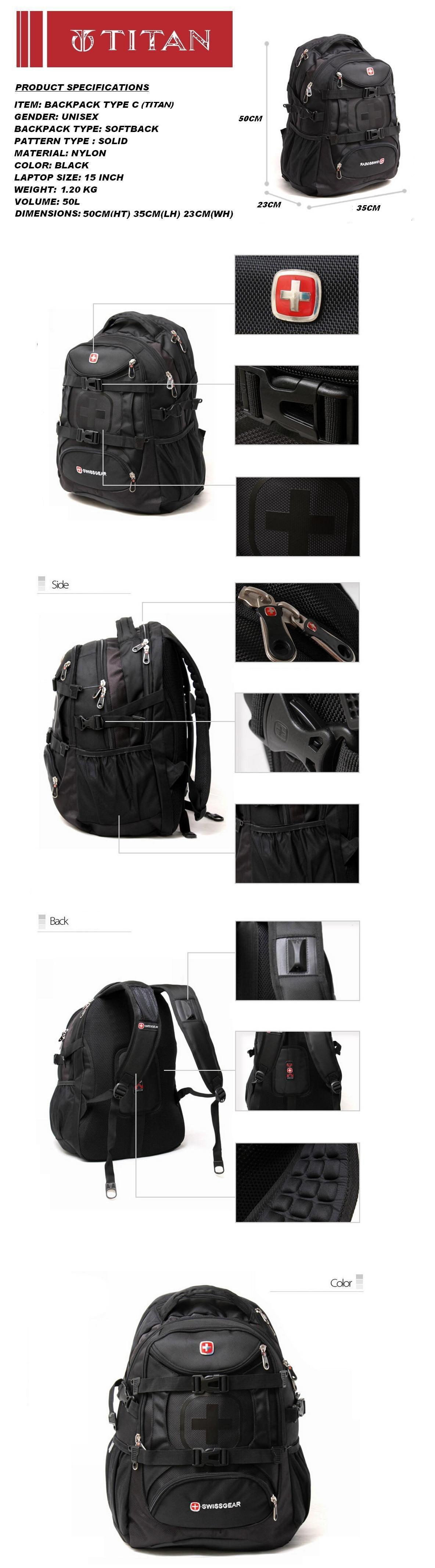 Sg Seller Fast Delivery Swiss Laptop Ladies Bag Notebook Bag Backpack Office Bag Mens Bag Not