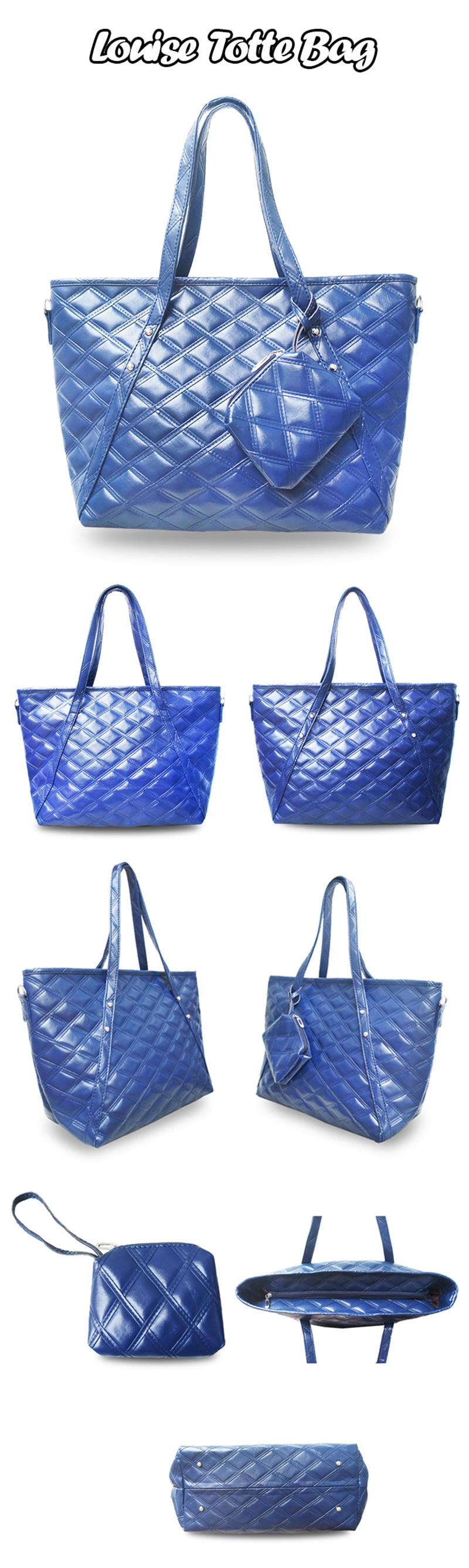 Quincylabel Tote Louise Bag Red Daftar Harga Terlengkap Indonesia Croco Himalayan Dark Blue New Item Quincy Label Dan Chain Tas Wanita