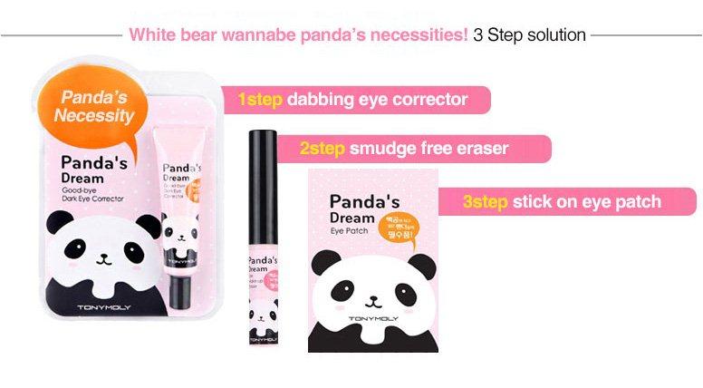 1 Step - Panda's Dream good bye Dark Eye Corrector
