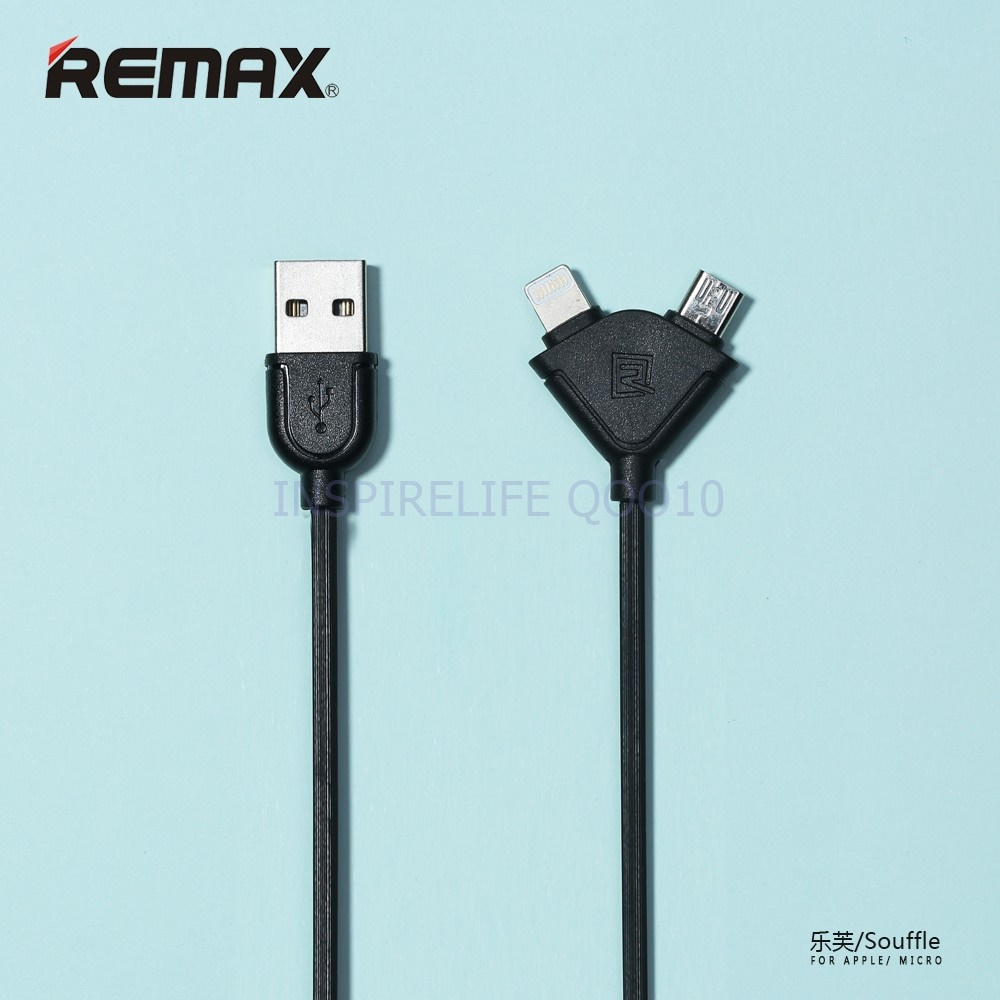 Buy Buy1get1free Authentic Remax Wide Range High Speed Fast Charge Original Lesu Series Data Cable 3 In 1 Lightning Usb Type C Micro 1m Rc 066th Ms Double Cables 2 Pack Available Length 100cm 16cm Android