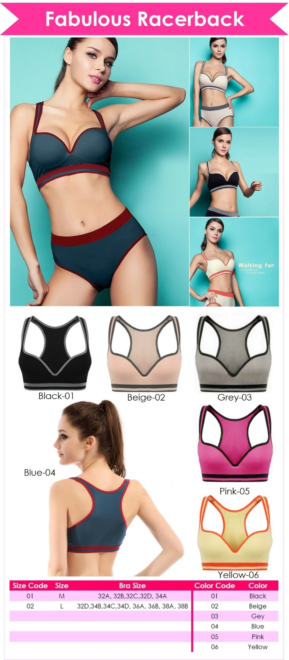 how to choose sports bra size
