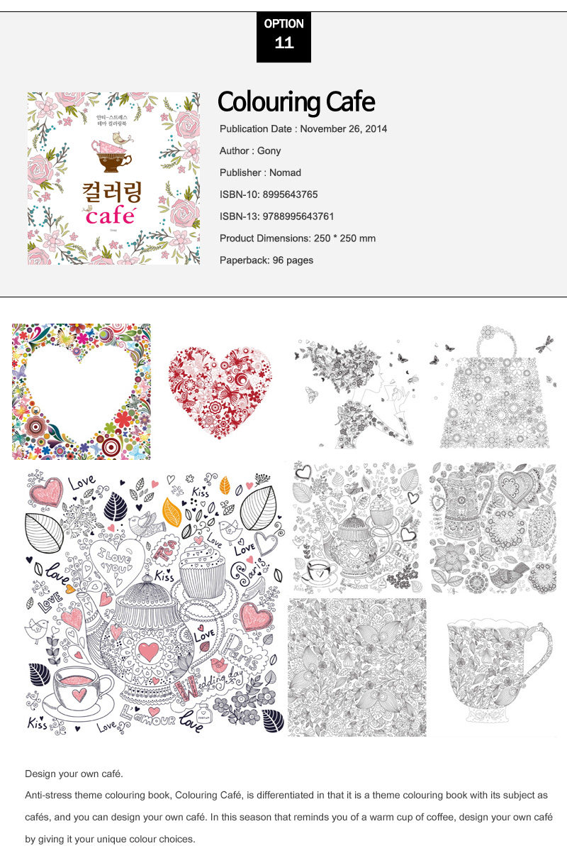 All The Colouring Books We Sell Is Authentic Printed In South Korea