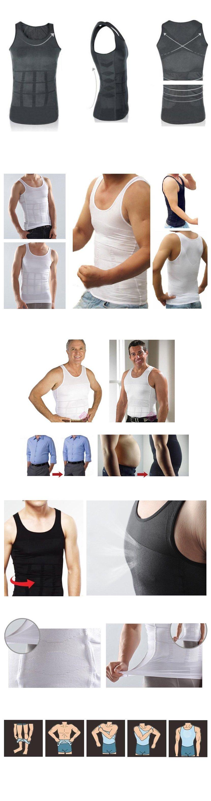 Buy ?AS SEEN AS ON TV?Men Vest?Slimming Vest For Men?Men ...