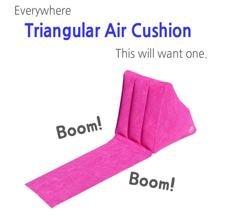 Buy Triangle Cushion The Lazy Back Indoor Cushion Camping
