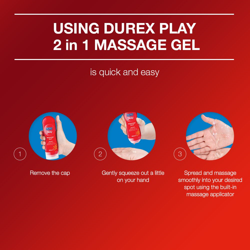 Every Need Want Day Durex Play Massage 2in1 Used All Over The Body As Well Use In Intimate Areas It Can Ease Vaginal Dryness Discomfort Also Has A Delicate Fragrance For