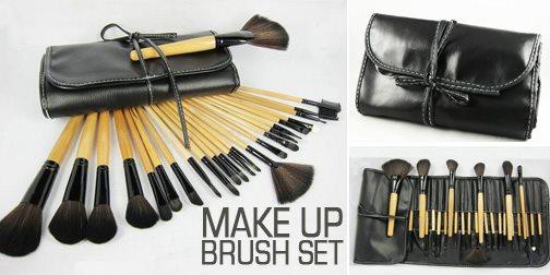 bobbi brown brushes price. ( malaysia seller) bobbi brown make-up brush 24pcs + case bag professional sets brushes price