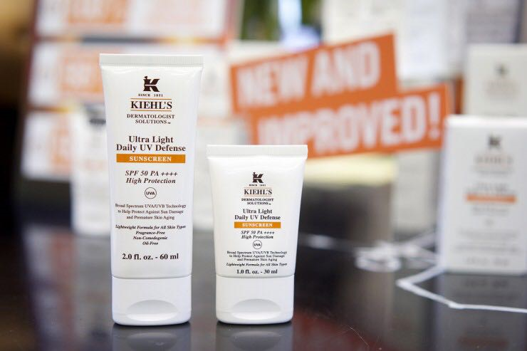 100% Authentic !#!amp!*! Buy 60ml Big Size and Save Your $$. Kiehls Ultra Light Daily UV Defense SPF 50 PA ...