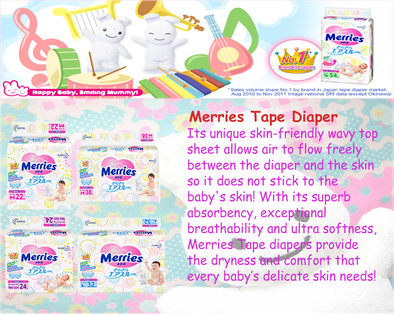 Buy Merries Baby Diapers Pants Carton Sale Deals For Only S38 Good Skin M22 Highlights