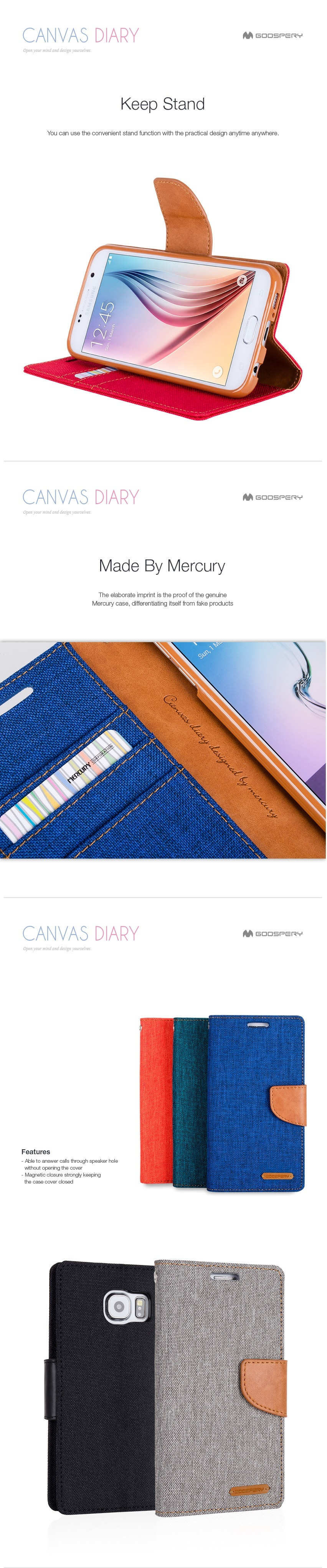 Buy Goospery Deals For Only S199 Instead Of S0 Samsung Galaxy J3 2016 Canvas Diary Case Blue Mercury Color Pearl Jelly With Various Colors And Strong Protection Scratch Is The Best