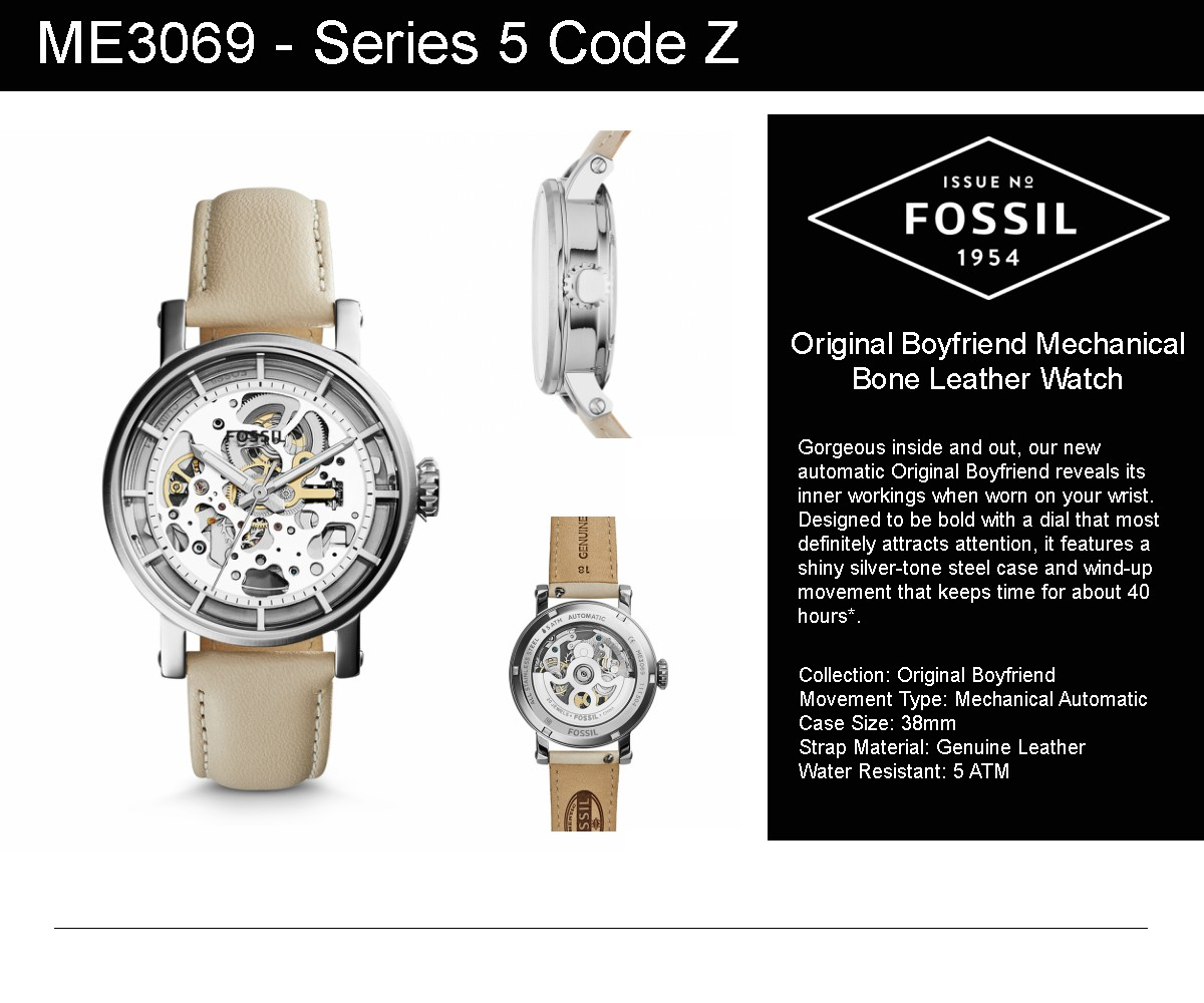 Buy Fossilfossil Genuine Men And Ladies Watches Deals For Only Fossil Es3816 Original Watch Women