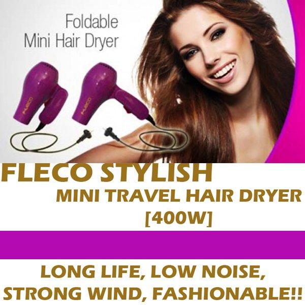 HAIR BESTFRIEND KITMINI FLECO HAIRDRYER NANO ION