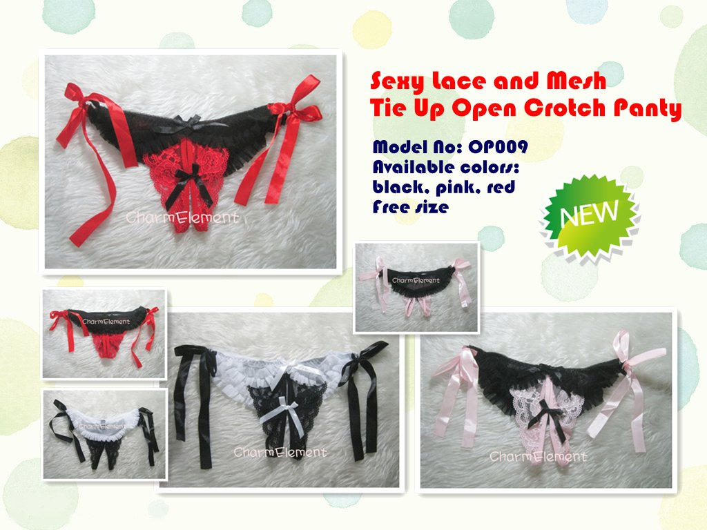 Every Need Want Day Thong G String Underwear Sexy Open Crotch Recommended To Ladies With Waistline 22 28 And Hips Size 32 36