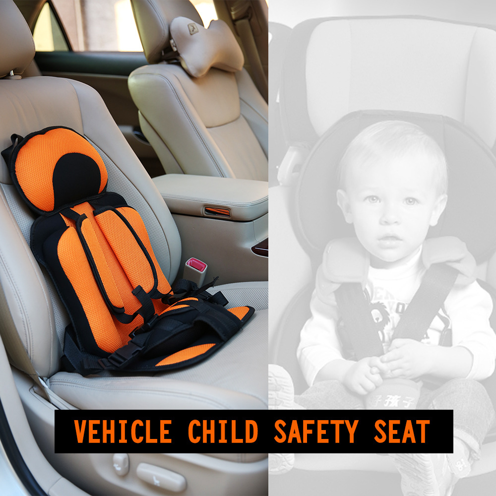 Adjustable Portable Baby Safety Car Seat