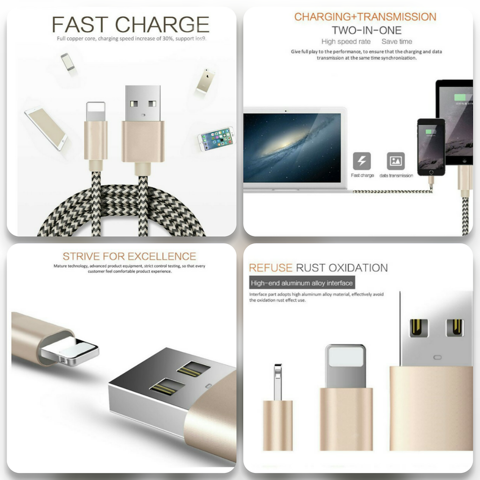 Qoo10 For Iphone Cable Usb 7 6s 6 1m 21a Fast Buy 1 Get Batok Charger 1a Plus 5s 5c 5 Ipad Air 2 Pro Mini 3 4 4th Generation