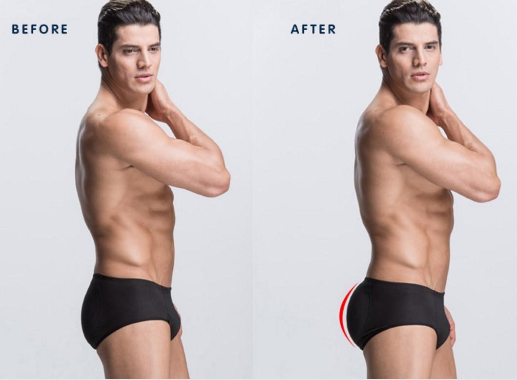 Men Padded Underwear Sexy Butt Fat B (end 4/20/2019 4:15 PM