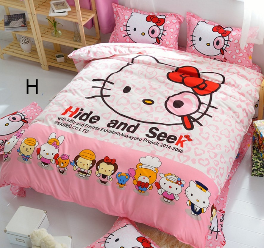 Hello Kitty Tablet Pillow: Bedsheet Hello Kitty Suitable Single (end 4/13/2019 8:15 AM