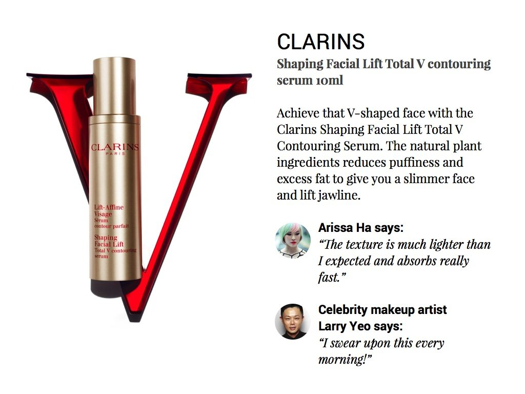 Every Need Want Day Clarins Shaping Facial Lift Total V Contouring Serum New Version 10ml Wrap 15ml