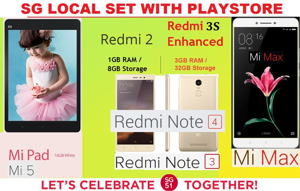 Every Need Want Day Xiaomi Redmi Note 2 4g Lte Dual Simcard Ram 1gb Internal 8gb We Are A Singapore Company And Thus Delivery Will Reach You In 1 3 Days On Average Working