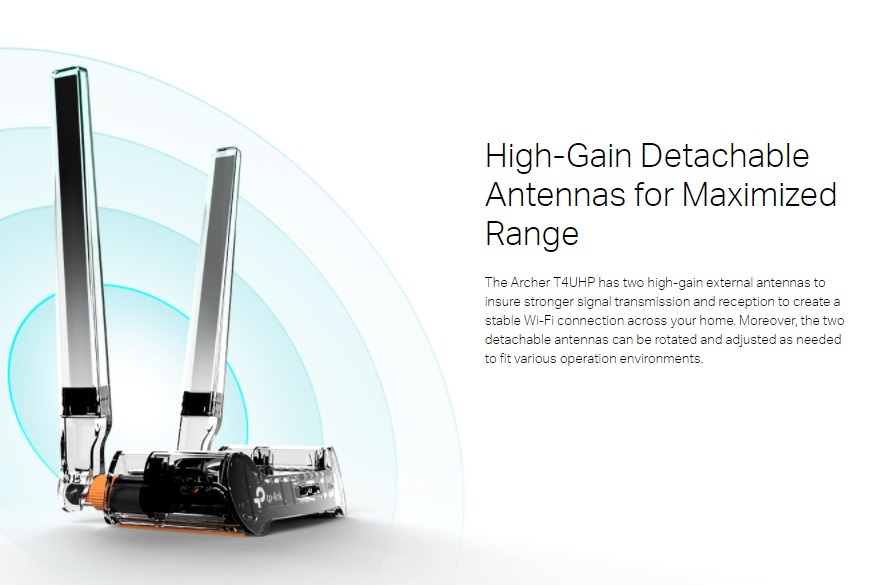 TP-LINK Archer T4UHP AC1300 High Power Wireless Dual Band ...