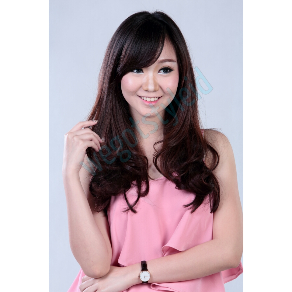Buy New Distributor Hairclip Big Layer 40 Deals For Only Rp65000 7revolution Biglayer Lurus Curly Wavy Short Blow 40cm
