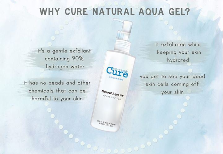Kết quả hình ảnh cho CURE Natural Aqua Gel