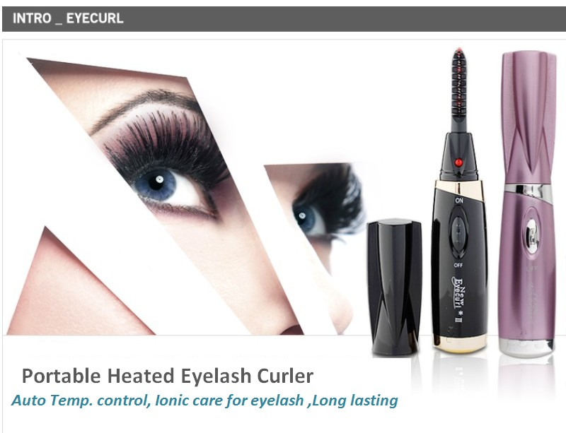 Jin Care Eyecurl2 Patented Heated Eyelash Curler Safety Ionic Effect