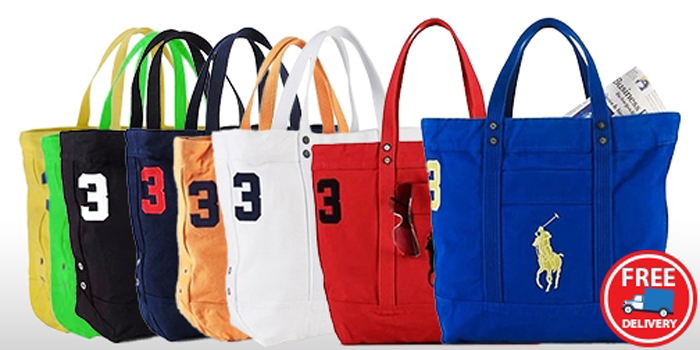 c4941c3906 Pls check out all our other items. Highlights. Polo Ralph Lauren Canvas  Tote Bag with Large Pony Logo