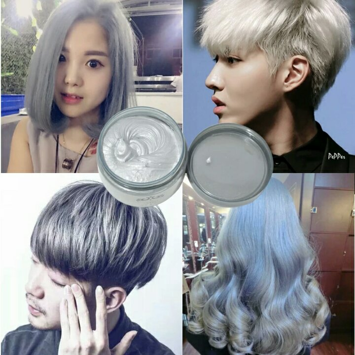 Qoo10 Harajuku Style Styling Products Hair Color Wax Dye One Time