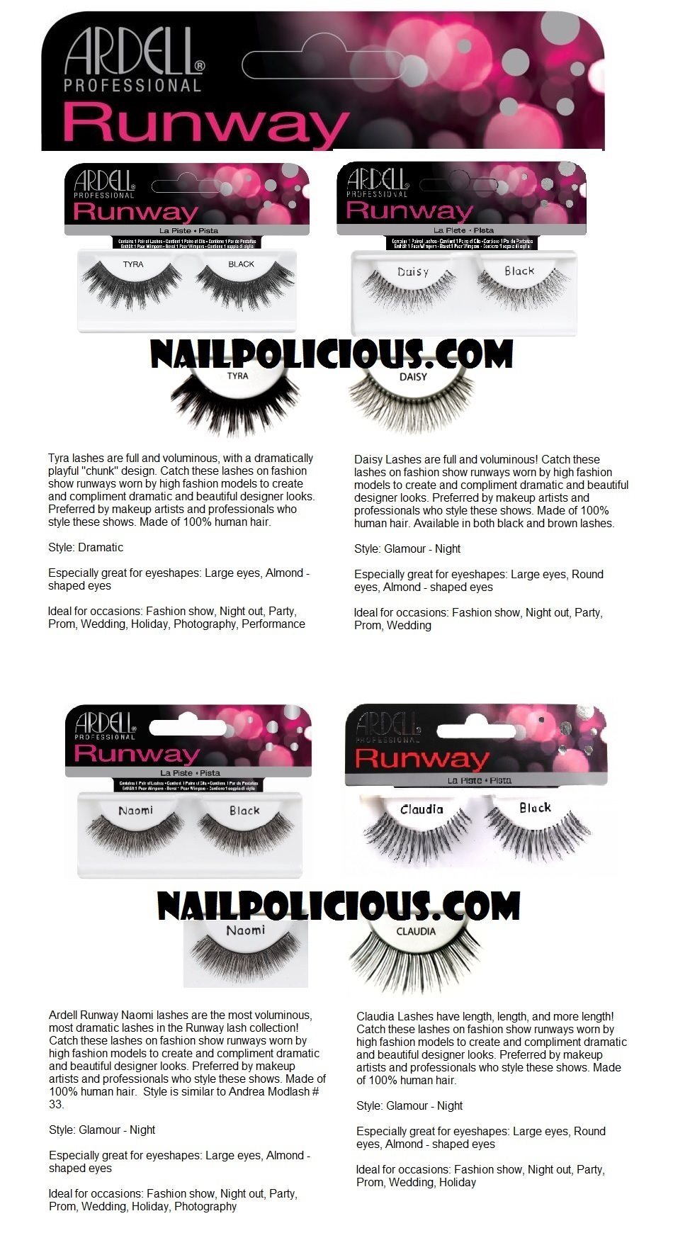45fa12844e3 Ardell Just For Fun WildLash. Ardell Dura Lash Lashes. Ardell DuraLash  Flare Short