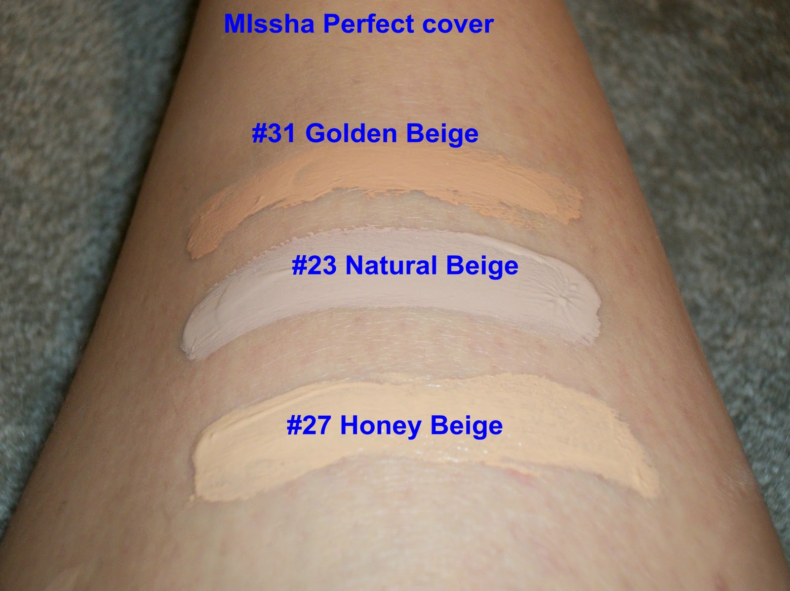 M Perfect Cover BB Cream RX SPF 42 by Missha #10