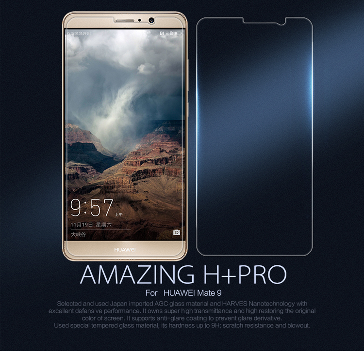 Nillkin Amazing H+ Pro Tempered Glass For Huawei Ascend Mate 9