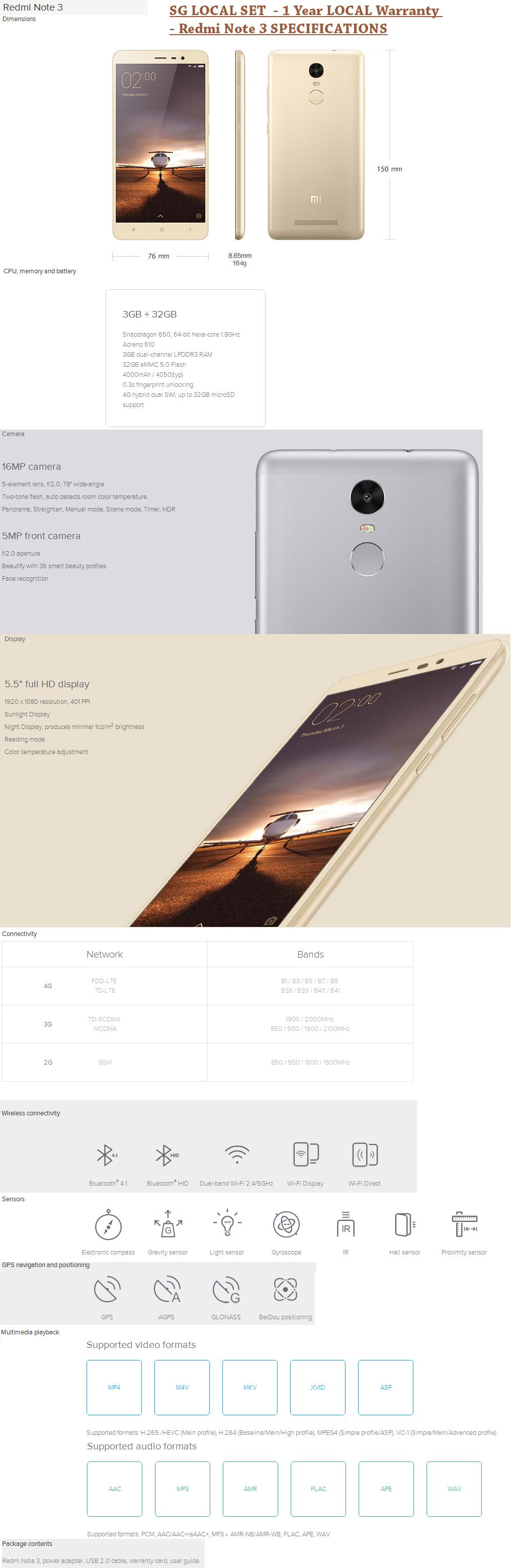 Every Need Want Day Xiaomi Redmi Note 2 4g Lte Dual Simcard Ram 1gb Internal 8gb Hwz Review Http Hardwarezonecomsg Tech News Updates 3 Snapdragon 650 Variant
