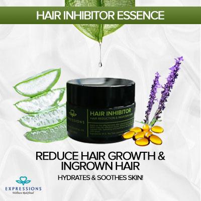 Reduce hair growth, Soothe skin, Moisturizing