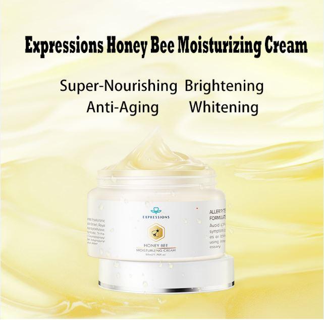 collagen, honey bee cream, moisturizing