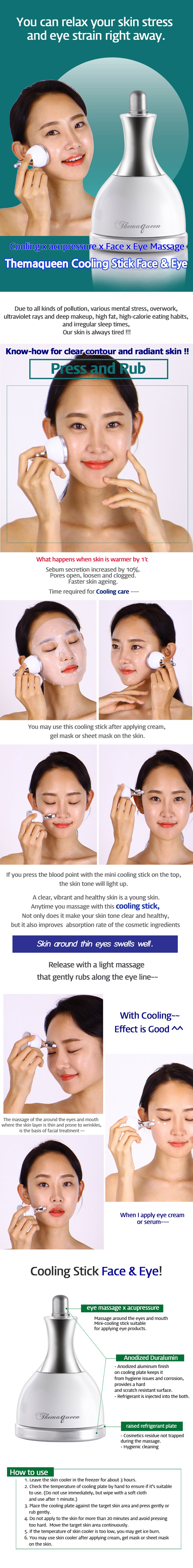 Image result for Themaqueen Face & Eye Cooling Stick