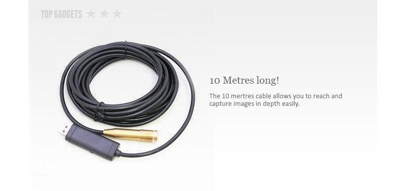 ENDOSCOPE WATERPROOF COLOUR CAMERA WITH IR LED