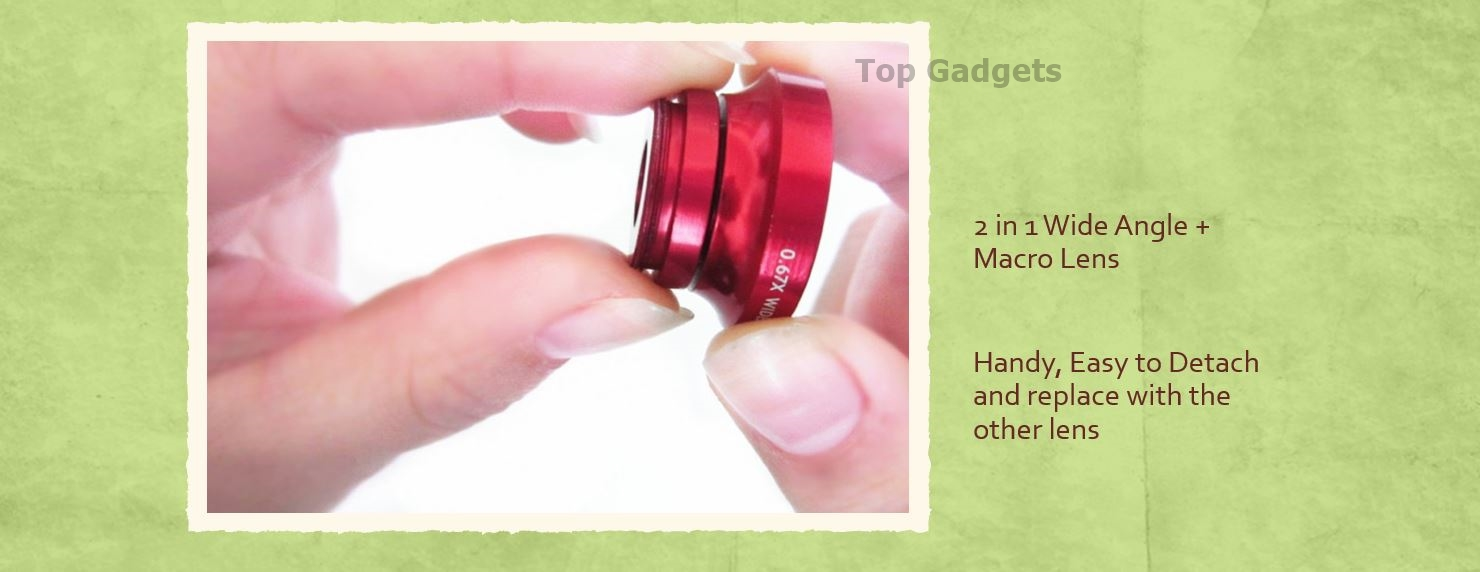 Universal Clip on Lens for Mobile Phone