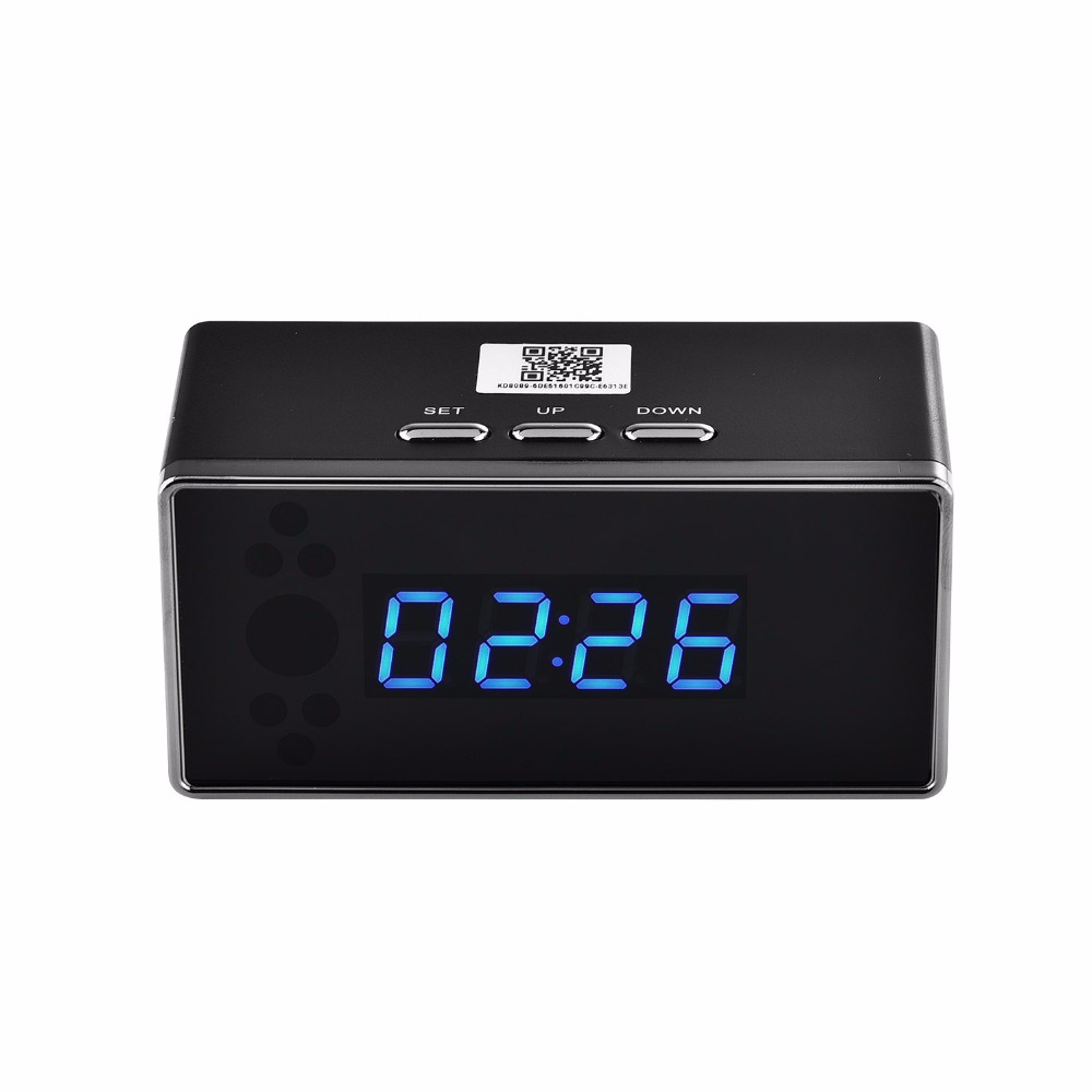Spy Clock with motion detection